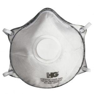 Respirador pre-moldeado